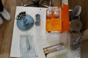 仮歯を作る道具